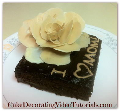 Mother's Day Dark Chocolate Cake Ideas From Scratch