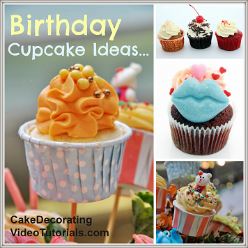 Cupcake Decorating Ideas Birthday : 5 Birthday Cupcake Ideas That Are Sure To Impress