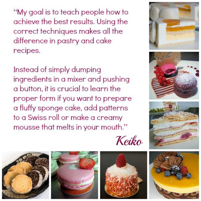 Keiko cake