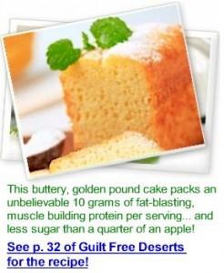 sugar-free poundcake