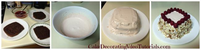 Chocolate raspberry cake recipe