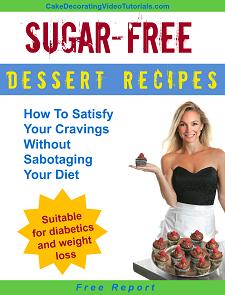 Free Report Sugar-free dessert recipes